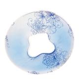 D DOLITY 1 x Silikon Gelkissen Salon Spa Massage Kopfstützen Kissen Pad - Blau - 1