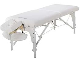 master massageliege weiss