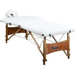 movit massageliege holz